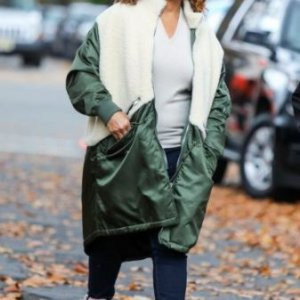 The-Equalizer-Queen-Latifah-Green-and-White-Coat