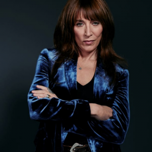 Rebel katey sagal blue blazer